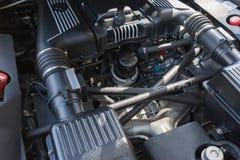 Ferrari engine on display Royalty Free Stock Photo