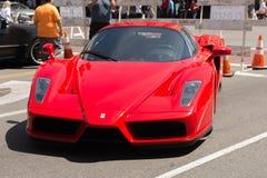Ferrari Enzo car on display Stock Photos
