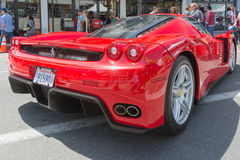 Ferrari Enzo car on display Stock Photo