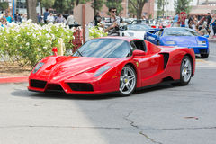 Ferrari Enzo car on display Stock Image