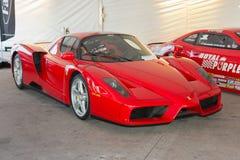 Ferrari Enzo on display Royalty Free Stock Photos