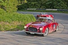 Ferrari 250 Europa GT (1955) i Mille Miglia 2016 Arkivfoto