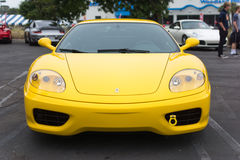 Ferrari on exhibition at an annual event Supercar Sunday Ferrari Stock Photo