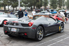 Ferrari on exhibition at an annual event Supercar Sunday Ferrari Royalty Free Stock Photos