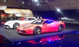 Ferrari expo Obraz Stock