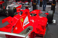 Ferrari F1 2011 Foto de Stock Royalty Free