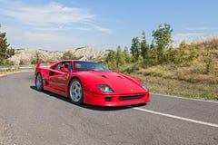 Ferrari F40 imagen de archivo libre de regalías