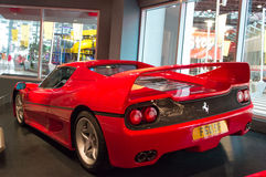 Ferrari F40 in Abu Dhabi Royalty Free Stock Photos
