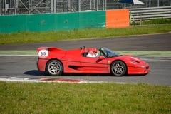 Ferrari F50 alla concorrenza di Mille Miglia Tribute Fotografie Stock Libere da Diritti