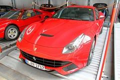 Ferrari F12 Berlinetta Stock Afbeeldingen