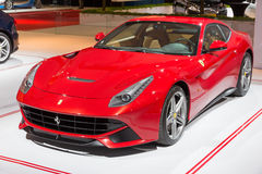 Ferrari F12 Berlinetta Arkivbilder