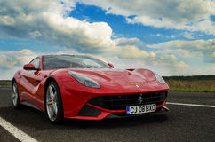 Ferrari F12 Berlinetta Images stock