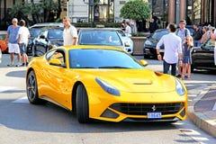 Ferrari F12 Berlinetta Royalty Free Stock Photography