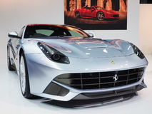 Ferrari F12 Berlinetta, 5th Supercar och import ca royaltyfria bilder