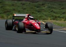 Ferrari F1 car. The ex-Jean Alesi Gerhard Bergher Ferrari F1 race car.  Ferrari 412TIB from 1994 is a 4 liter V12 Ferrari producing in excess of 900hp Royalty Free Stock Photos