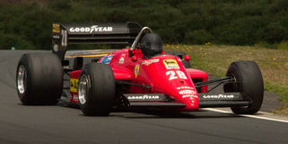 Ferrari F1 car Royalty Free Stock Photography