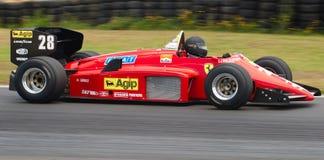Ferrari F1 car Stock Photos