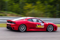 Ferrari F430 Challenge. Track day car photographed during KSA event at Automotodrom Brno, Czech Republic on May 3, 2014 Royalty Free Stock Photos