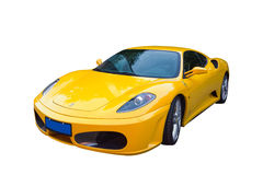 Ferrari F430. A Ferrari F430 isolated on a white background Royalty Free Stock Photography