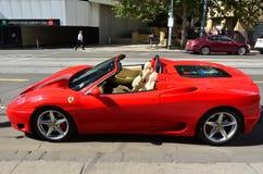 Ferrari F430 pająk Obrazy Stock