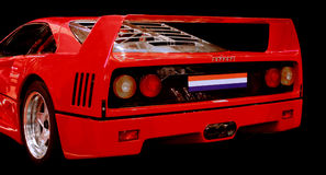 Ferrari F 40 race car Royalty Free Stock Image
