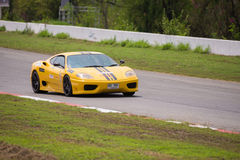 Ferrari F430 race session Royalty Free Stock Photography