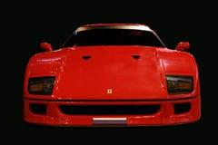 Ferrari F 40 racerbil Arkivbilder