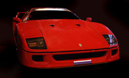 Ferrari F 40 racerbil Royaltyfri Foto