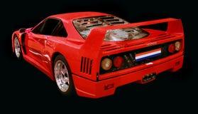 Ferrari F 40 racerbil Fotografering för Bildbyråer