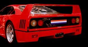 Ferrari F 40 racerbil Royaltyfri Bild