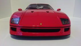 Ferrari F40 red racing car royalty free stock image