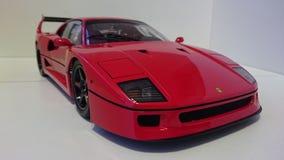 Ferrari F40 red racing car stock photography