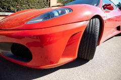 Ferrari F430 spider left front side Royalty Free Stock Photo
