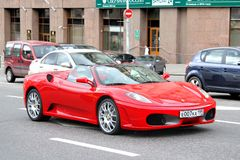 Ferrari F430 spindel Royaltyfri Bild