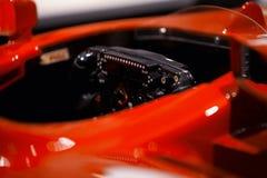 Ferrari formula one steering wheel Stock Photography