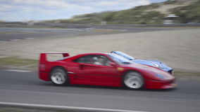 Ferrari F40 Track Day Royalty Free Stock Images