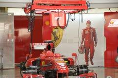 Ferrari F1 Stockbild