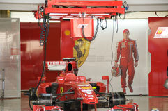 Ferrari F1 Stock Afbeelding