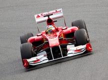 Ferrari F1 Fotografía de archivo libre de regalías