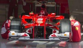 Ferrari F1 Fotografia Stock Libera da Diritti