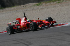 Ferrari f1 and Massa Stock Photo