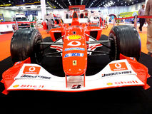 Ferrari F1 Racing Car Royalty Free Stock Images