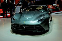 Ferrari F12 berlinetta 2014 Royalty Free Stock Images