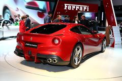 The Ferrari F12 berlinetta Royalty Free Stock Images