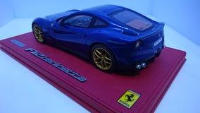 Ferrari F12 Berlinetta Tour de France edition rear view royalty free stock photo