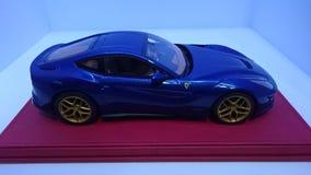 Ferrari F12 Berlinetta Tour de France edition side view stock photo