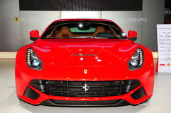 Ferrari F12 sportbil royaltyfria bilder