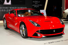 Ferrari F12 sports car Royalty Free Stock Photography