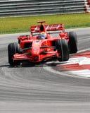Ferrari f200 marlboro scuderia Zdjęcia Stock