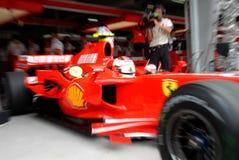 Ferrari f200 marlboro scuderia Obrazy Royalty Free
